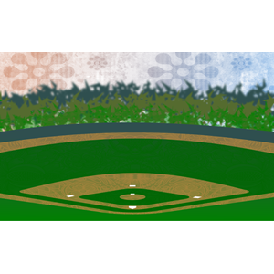 Stadium clipart baseball field #9