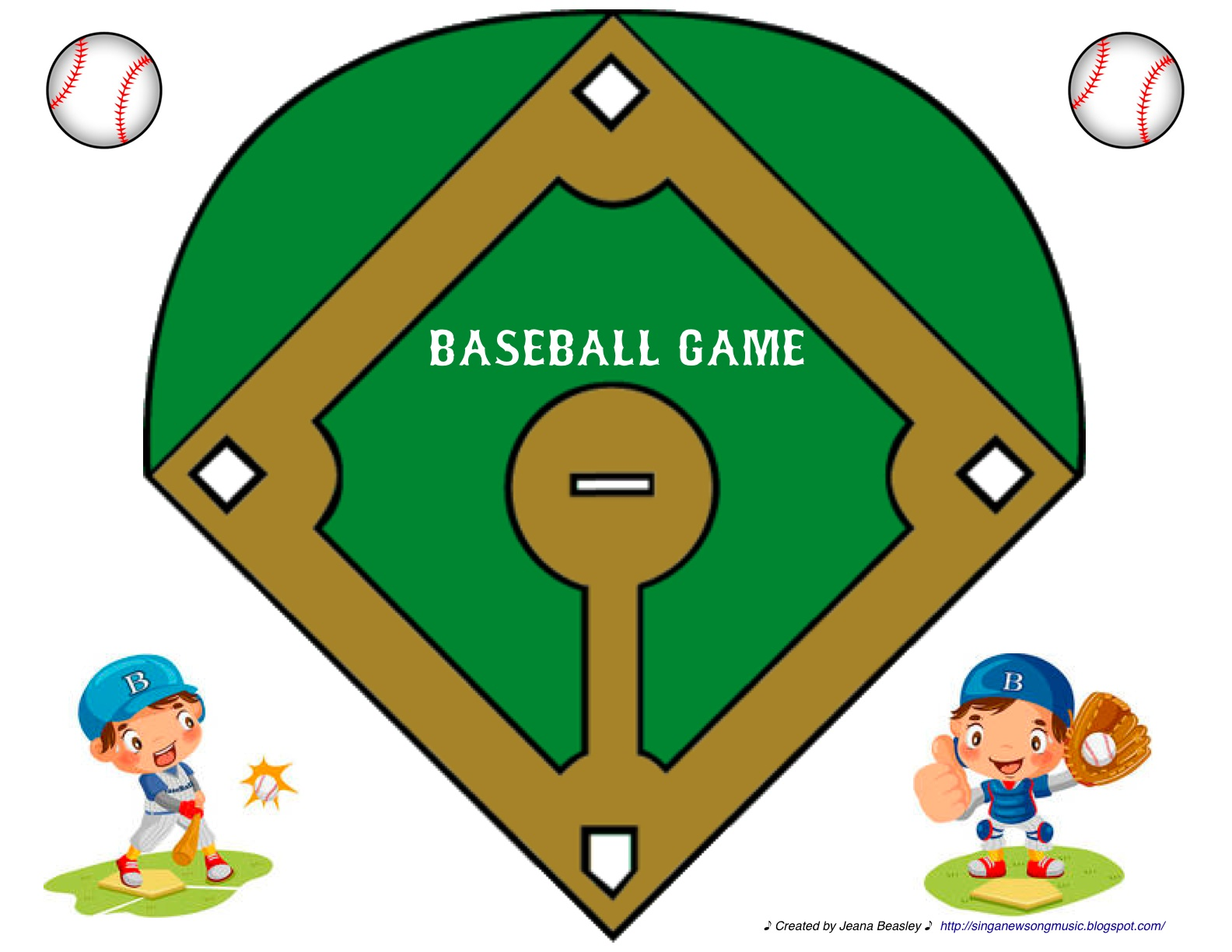 Diamond clipart printable Field Baseball field baseball baseball