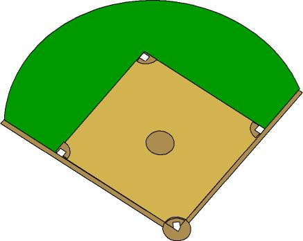 Background clipart baseball field Field 8 Baseball field WikiClipArt