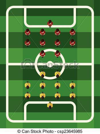 Stadium clipart football ground #11