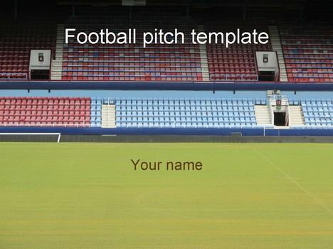 Stadium clipart football ground Football PowerPoint  Stadium Template
