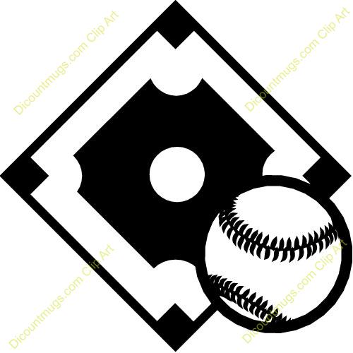 Diamond clipart line art Field Baseball diamond softball clipart