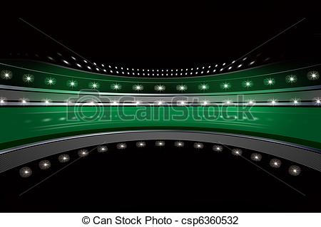 Stadium clipart stadium light #12