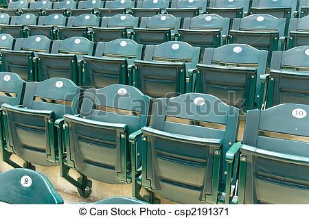 Stadium clipart stadium seat Csp2191371 Empty of Stadium