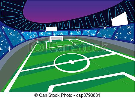 Stadium clipart vector Clip csp3790831 angle Perspective Perspective