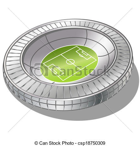 Stadium clipart vector #13