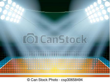 Stadium clipart volleyball Background EPS posters stadium posters