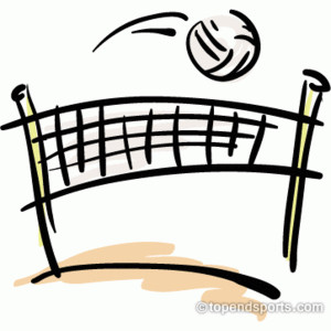 Stadium clipart volleyball Volleyball Art Volleyball Clipart Polyvore