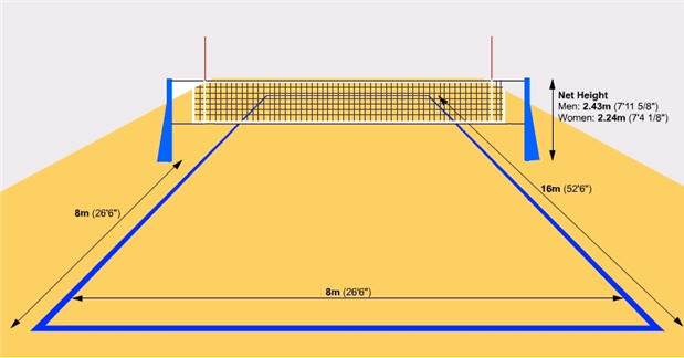 Stadium clipart volleyball #4