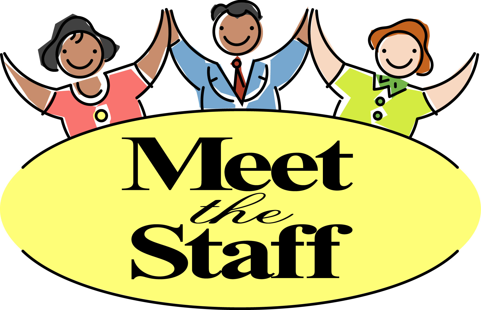 Other clipart meet and greet Free Staff Clipart Panda Free