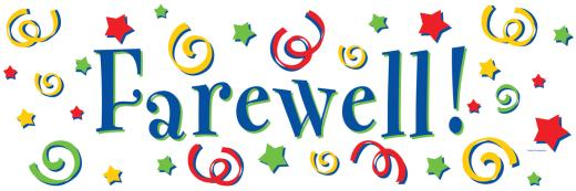 Staff clipart farewell Chosen  have next to