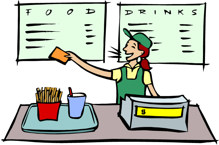 Staff clipart fast food On Free Clipart Download Clip