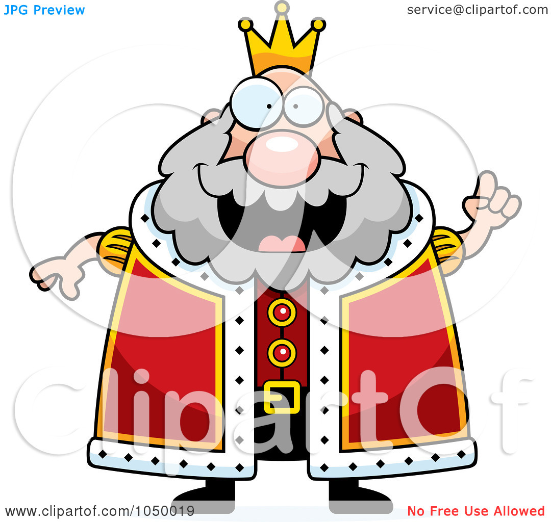 Staff clipart king's King Cartoon Of A Tough