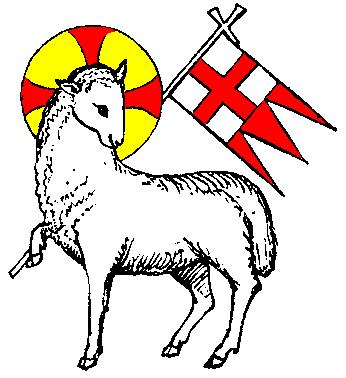 Staff clipart lamb Heraldry Lamb Lamb Parker's The