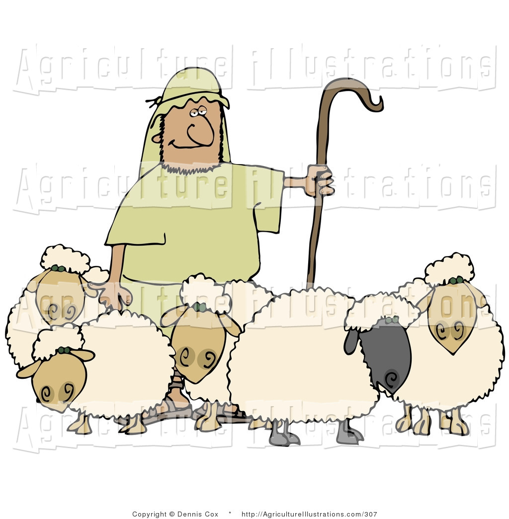 Staff clipart lamb And Holding Designs Agriculture Lambs
