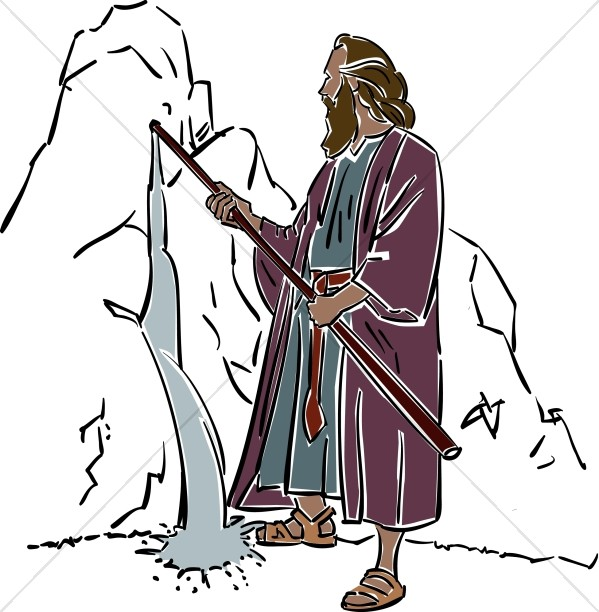 Staff clipart moses Moses from Moses Clipart Moses