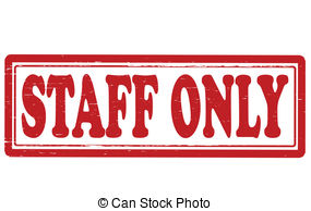 Staff clipart only Royalty Staff only Clipart staff
