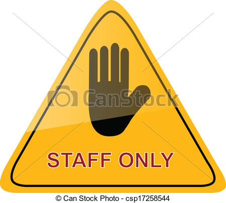 Staff clipart only Vector Sign Staff stamp Staff