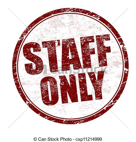 Staff clipart only Staff Only Clipart Staff Download