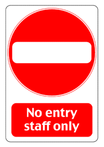 Staff clipart only Clip Entry Sign vector Entry