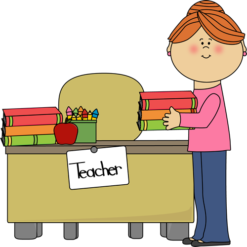Desk clipart classroom teaching District School Staff Preschool Staff