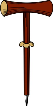 Sword clipart small Shepherd Staff  Clipart