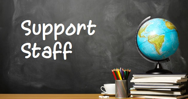 Staff clipart support Middle Support  Staff >