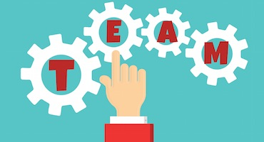 Staff clipart team player How staff Team leader merely