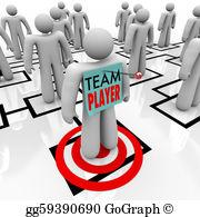 Staff clipart team player Employee Dependable  Clip staff