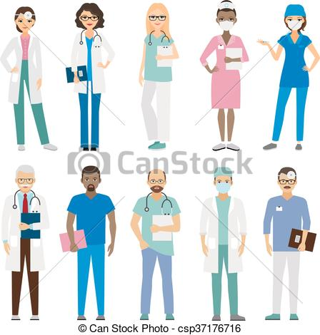 Staff clipart winning team Hospital staff Hospital  medical