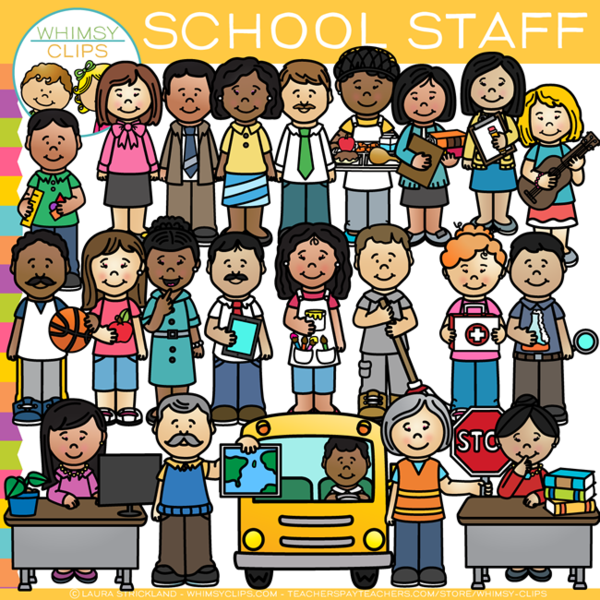 Staff clipart winning team Whimsy Clips & Staff Illustrations