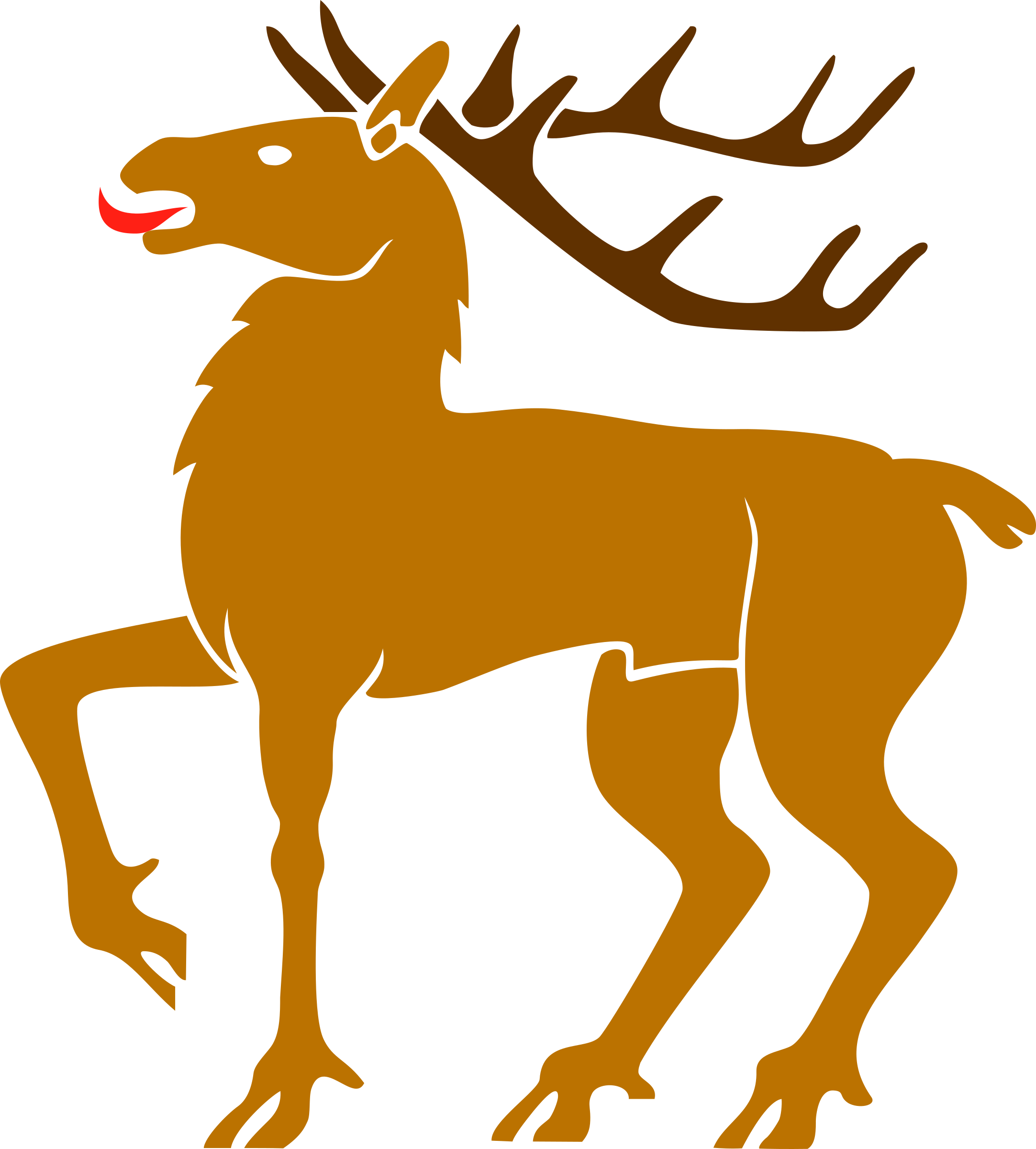 Stag clipart 3 Stag Stag Clipart 3