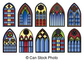 Stained Glass clipart Free glass Decoration  8