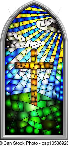 Stained Glass clipart background Art  Church Clip Clipart