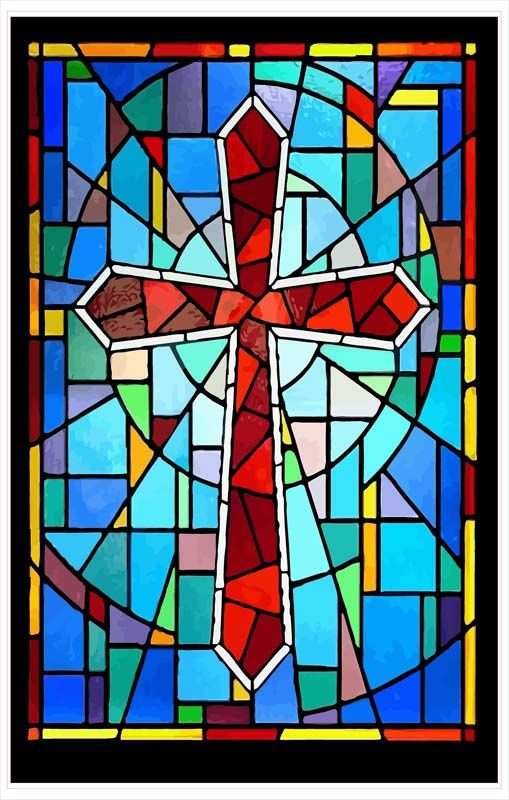 Stained Glass clipart background Church Stained Clip Art Window