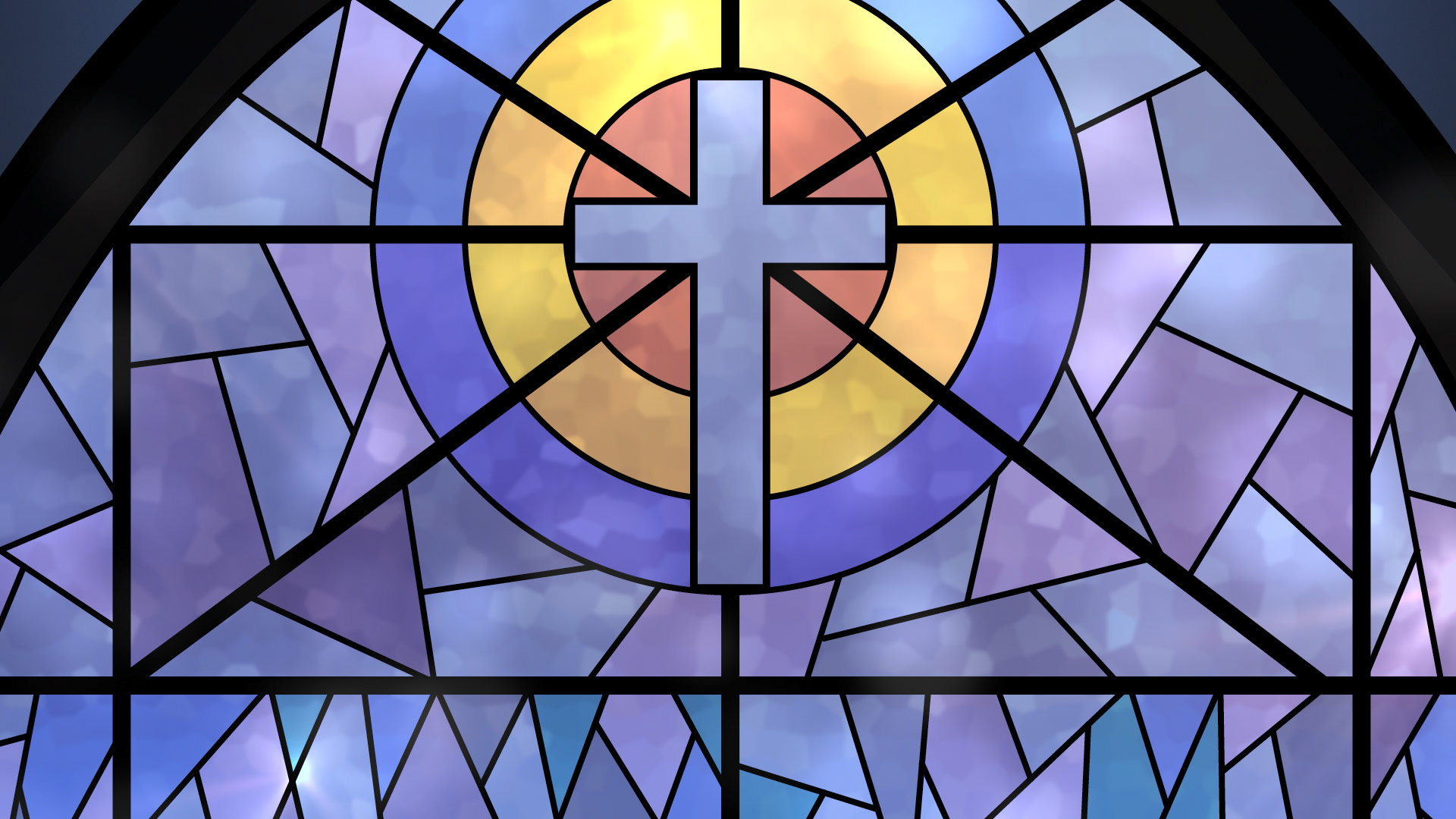 Stained Glass clipart background 16x9 Graphic (Widescreen) Background backgrounds
