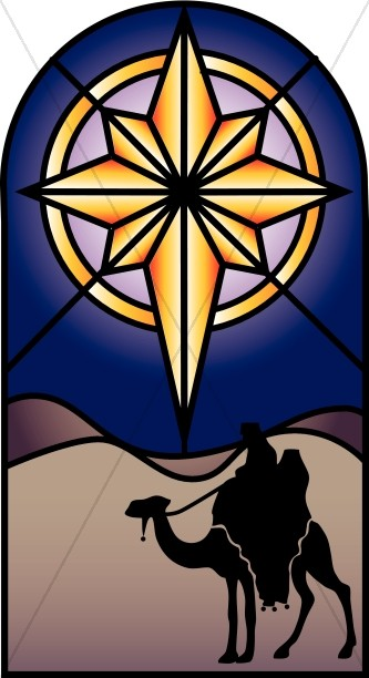 Stained Glass clipart bethlehem Nativity Star Stained Clipart Clipart