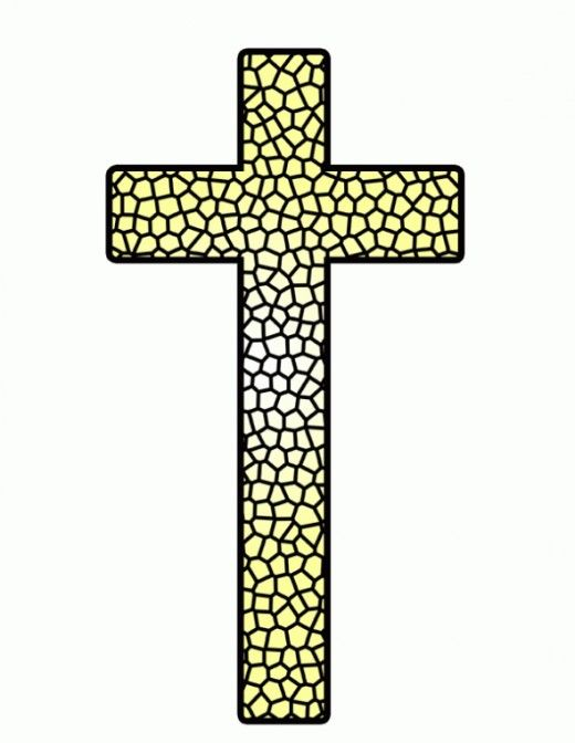 Stained Glass clipart body blood  Free Yellow Communion First