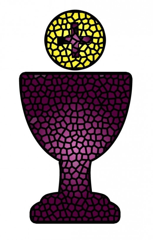Stained Glass clipart body blood Communion Chalice Communion & Eucharist