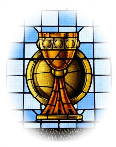 Stained Glass clipart body blood Reflection  really namely communion