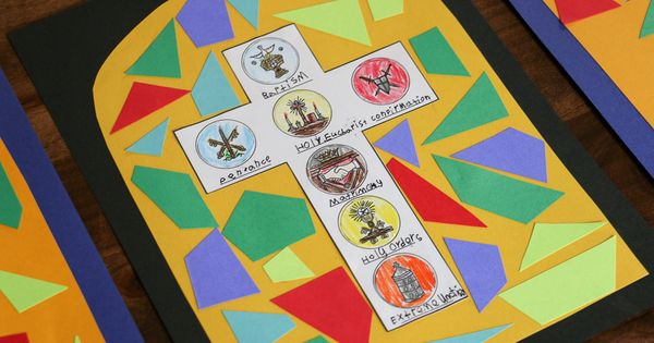 Stained Glass clipart catholic school Seven Printable!} Roses: The