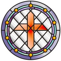 Stained Glass clipart catholic school Stained glass judaica patterns church