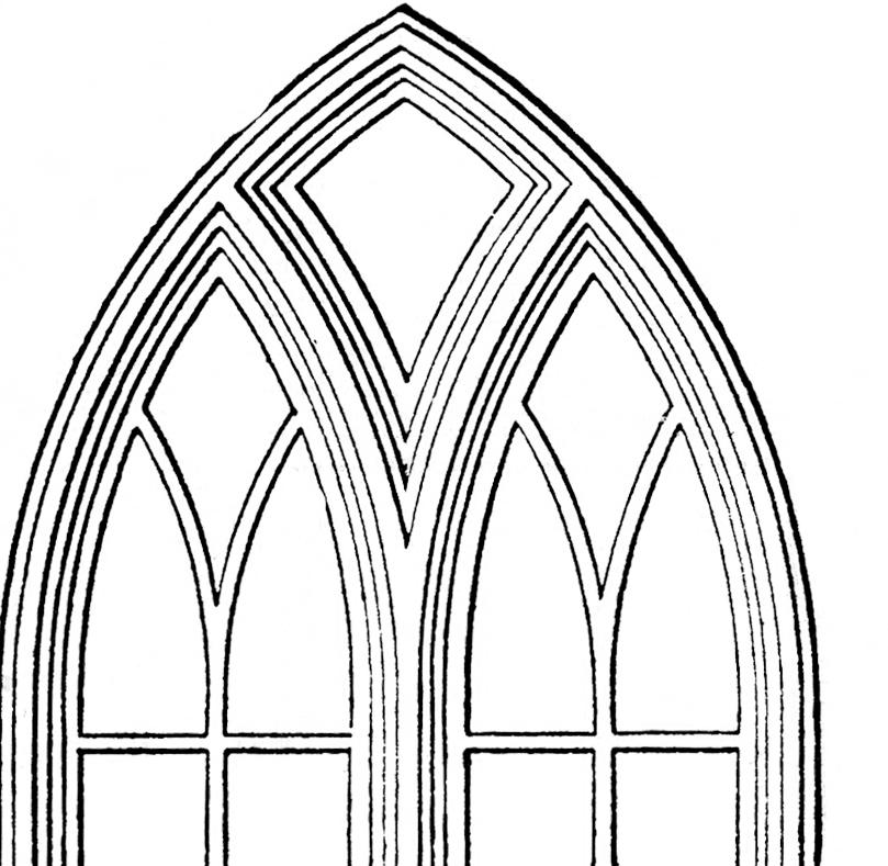 Window clipart church windows The Gothic Graphics Windows Art