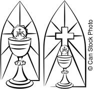 Stained Glass clipart communion cup 1 stained  holy Illustration