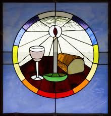 Stained Glass clipart communion cup Stained window Holy in communion