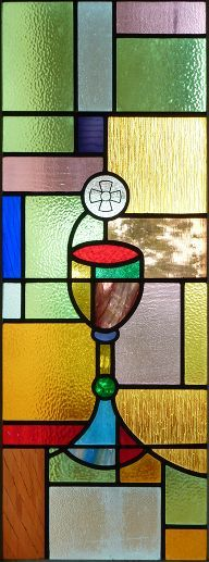 Stained Glass clipart communion cup Stained chalice Holy in Christian