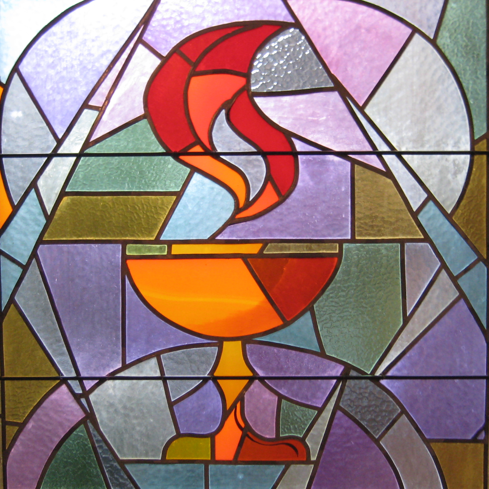 Stained Glass clipart communion cup Art by Unitarian Unitarian Flaming