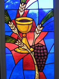 Stained Glass clipart communion cup Communion and teachers vitral first
