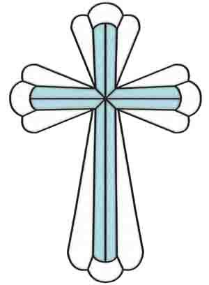 Stained Glass clipart cross Rose & com Glass images