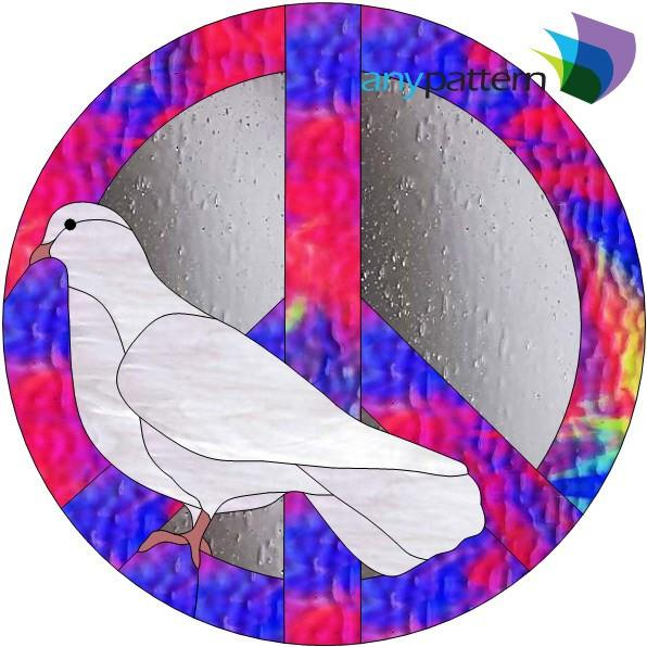 Stained Glass clipart dove peace Pattern Stained Dove Stained anypattern